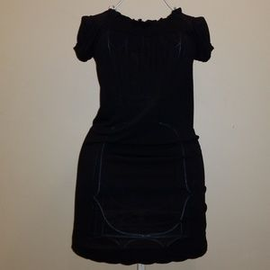 Black Bebe Shift Dress